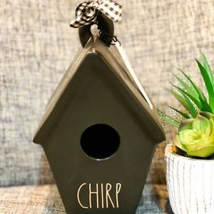 Hard to find Rae Dunn Chirp bird house